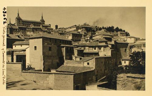 43062-Vista parcial de Toledo y Convento de San Pablo