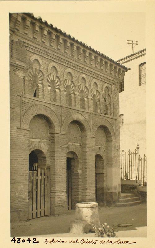 C.L.43042-Mezquita del Cristo de la Luz. Fachada norte