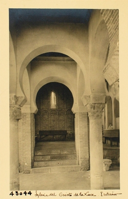 C.L.43044-Mezquita del Cristo de la Luz. Interior