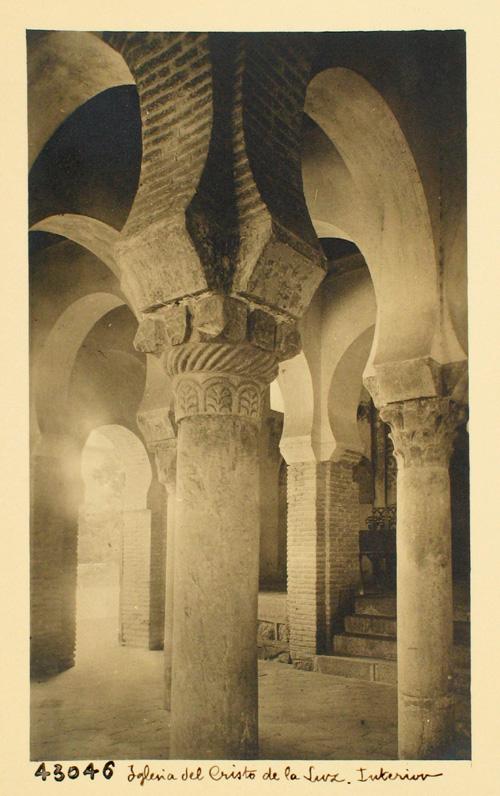 C.L.43046-Mezquita Cristo de la Luz. Detalles del interior