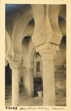 C.L.43045-Mezquita del Cristo de la Luz. Interior