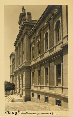 43153-Palacio de la Diputación Provincial. Fachada