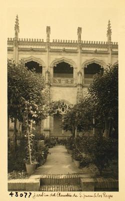 43077-Jardín del Claustro de S. Juan de los Reyes