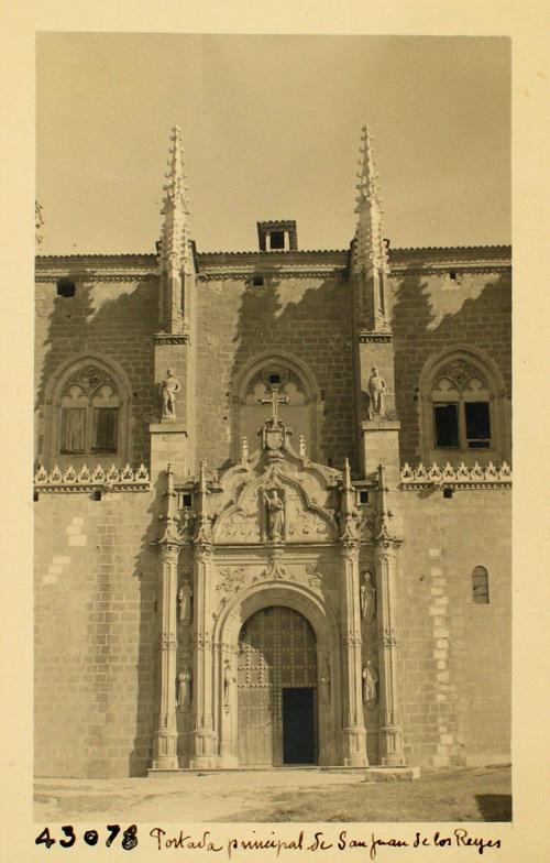 43078-Portada principal de San Juan de los Reyes