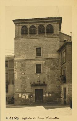 43159- Fachada de la iglesia del convento de las Gaitanas