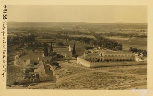 43138-Cristo de la Vega. Vista general y cementerio de la M.