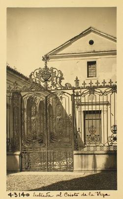 43140-Verja de entrada a la Ermita del Cristo de la Vega