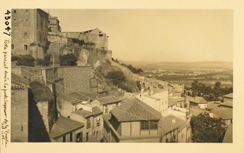 43047-Caserío urbano y la Vega desde la Puerta del Sol