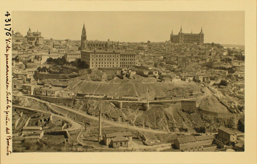 43176-Panorámica de Toledo y de las Carreras de S.Sebastián