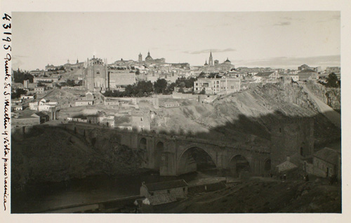 43195-Puente de San Martín y vista panorámica de Toledo