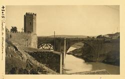 43015-Puente de Alcántara desde las Turbinas de Vargas