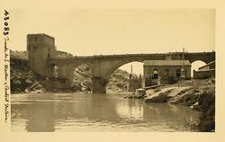 43083-Puente de San Martín y central eléctrica de Sta. Ana
