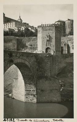 43182-Arco central y torreón norte del Puente de Alcántara