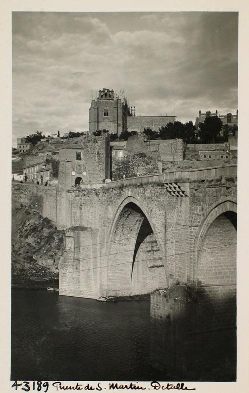 43189-Detalle del Puente de San Martín, aguas abajo