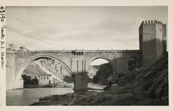 43190-S.M. Vista del Puente y central eléctrica aguas abajo