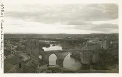 43201-S.M. El Puente, cauce del río y la Vega al atardecer