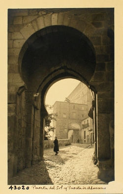 43020-Interior de la Puerta del Sol y Puerta de Alarcones