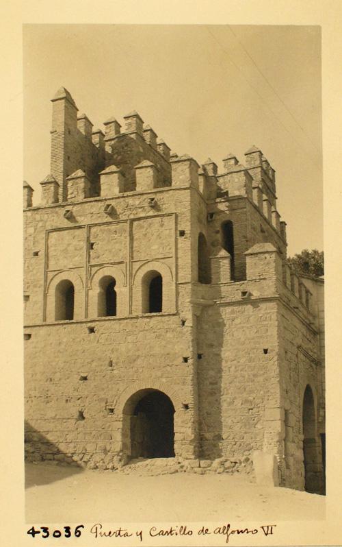 43036- Interior de la Puerta de Alfonso VI desde la ciudad