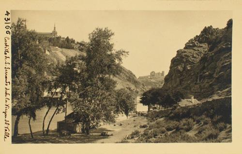 43166-Vista del Castillo de San Servando desde Saelices