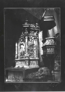 A1-10 Catedral. Altar de Santa Catalina de V. de la Zarza