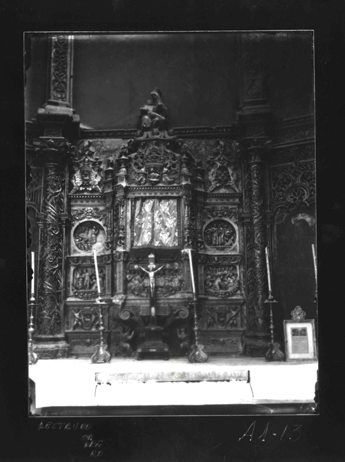 A1-13 Catedral. Altar renacentista