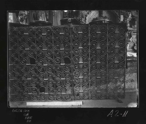 A2-11 San Vicente. Reja del interior románica, S. XII