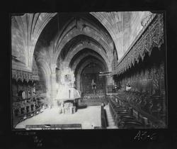 A3-6 Convento de Santo Tomás. Nave central y coro