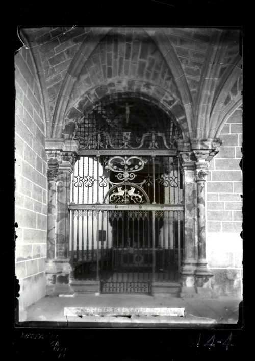 A1-18 Catedral. Reja de la capilla de las Cuevas, S.XVI