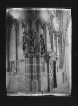 B1-11 Catedral. Pilar del Claustro. Adoración de los Magos