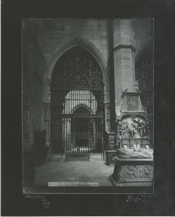 B1-20 Catedral. Reja renacentista del siglo XVI