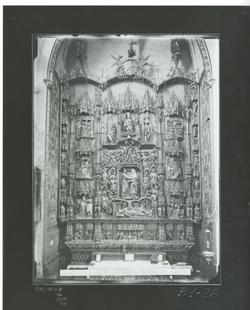 B1-26 Catedral. Retablo de la Capilla de Santa Ana