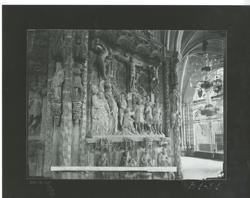 B1-31 Catedral. Relieve del Calvario en el trasaltar