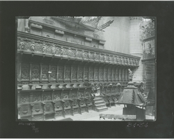 B1-34 Catedral. Sillaría del Coro. Lateral derecho