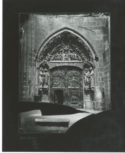 B1-35 Catedral. Puerta de la Anunciación del Claustro