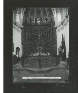 B2-5 Cartuja de Miraflores. Retablo del Altar Mayor