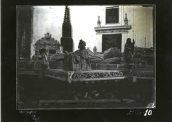 B2-10 Cartuja de Miraflores. Detalle del sepulcro de Juan II