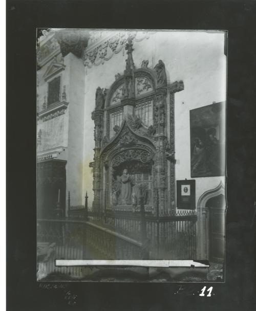 B2-11 Cartuja de Miraflores. Sepulcro del Infante D. Alfonso