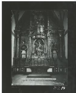 B2-14 Cartuja de Miraflores. Retablo Ntra. Sra. del Rosario