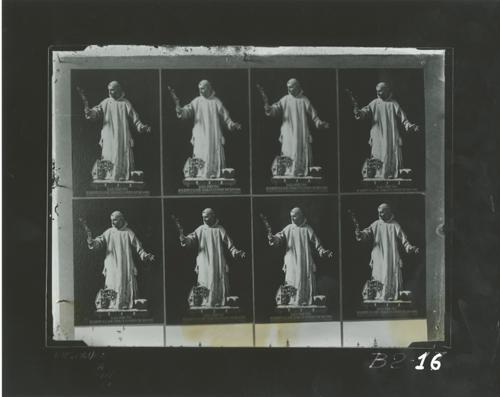 B2-16 Cartuja de Miraflores. Escultura de San Bruno