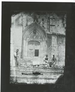 B4-1 Parroquia de San Nicolás. Portada principal