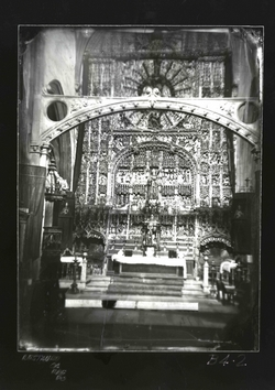 B4-2 Parroquia de San Nicolás. Retablo del Altar Mayor