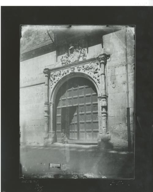 B5-2 Arquitectura Civil. Portada de casa renacentista