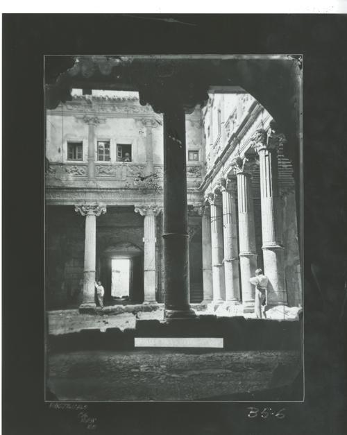 B5-6  A. C. Patio palacio de Miranda, hoy Museo Arqueológico