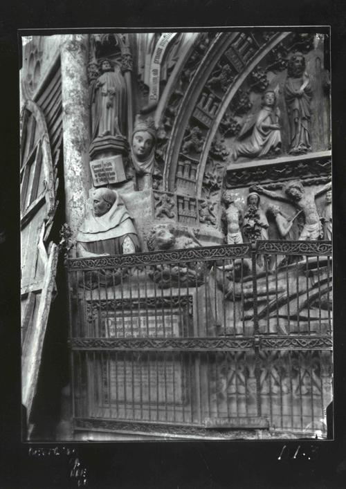 D1-3 Cat. Detalle del sepulcro de Ordoño II