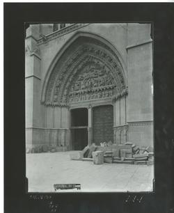 D1-1 Cat. Puerta central de la fachada sur(