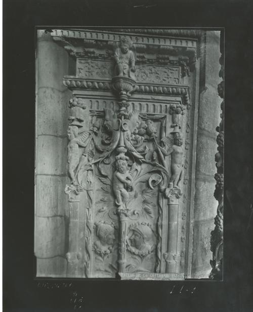 D1-9 Cat. Detalle del Trascoro ( Docel y P. de Salamanca)