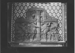 D3-2 M. Arqueológico. Relieve de la flagelación, siglo XVI