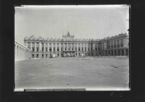 E1-1 Arquitectura Civil - Fachada principal del Palacio Real