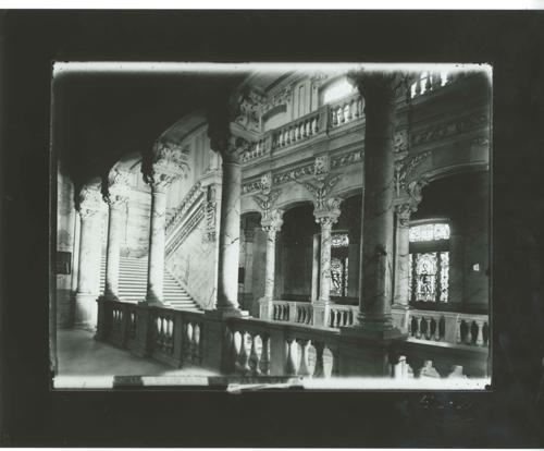 E1-2 Arquitectura Civil- Escalera del Banco de España