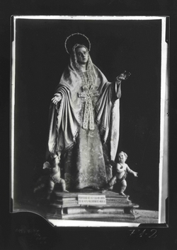 F1-2 Imagen de la Virgen de la Soledad, obra de Salzillo